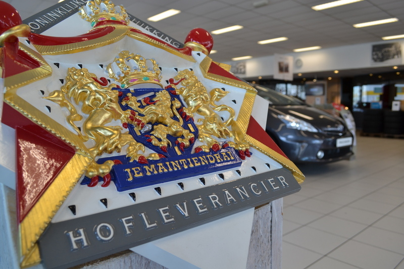 Hofleverancier logo Van Ekris Automotive Mijdrecht